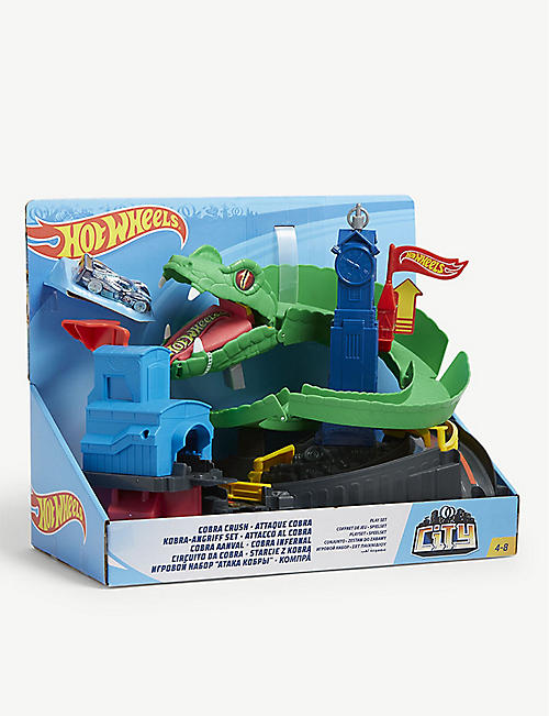 HOTWHEELS Cobra Crush playset