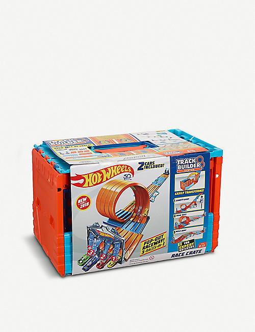 HOTWHEELS Hot Wheels Track Builder Race Crate
