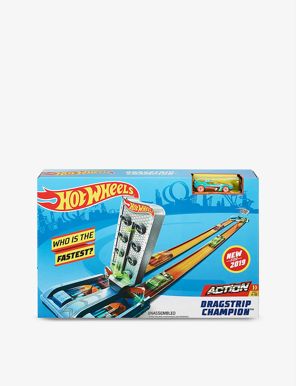 HOTWHEELS: Dragstick Champion play set