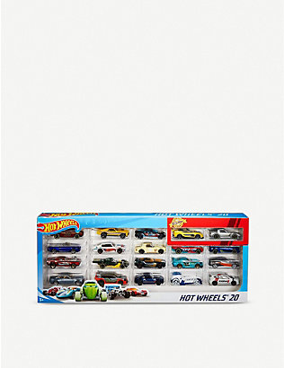 HOTWHEELS: 20 pack model cars