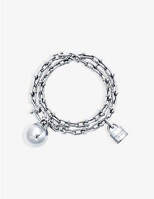 TIFFANY & CO: Tiffany City HardWear sterling silver bracelet