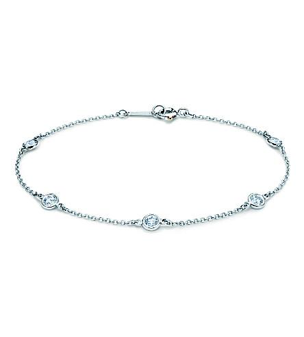 TIFFANY & CO Elsa Peretti Diamonds by the Yard bracelet in