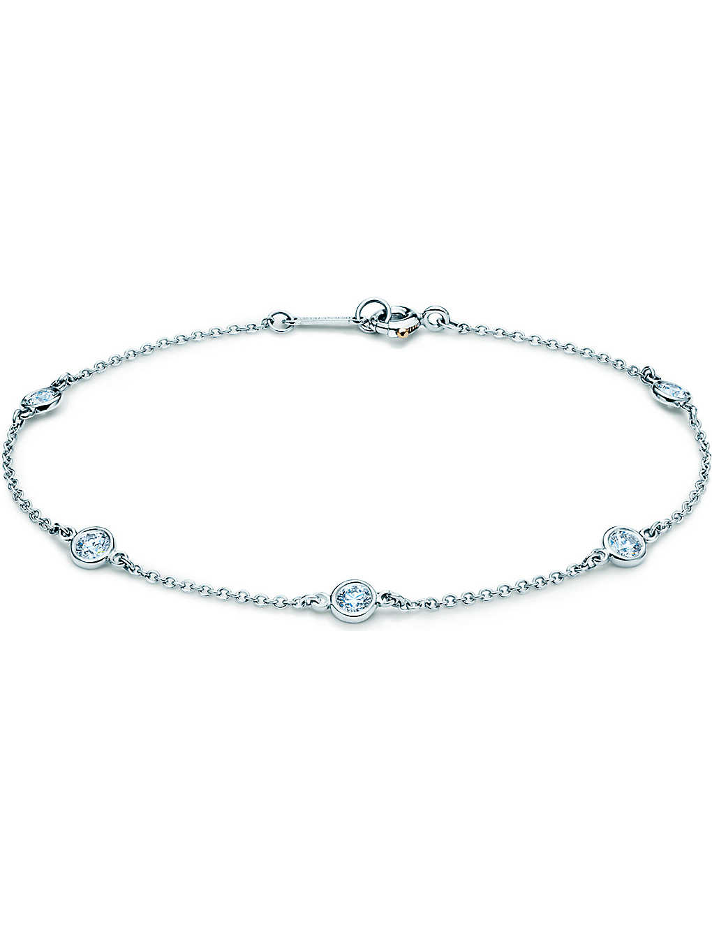 de8d3ec6a TIFFANY & CO - Elsa Peretti® Diamonds by the Yard® bracelet in ...