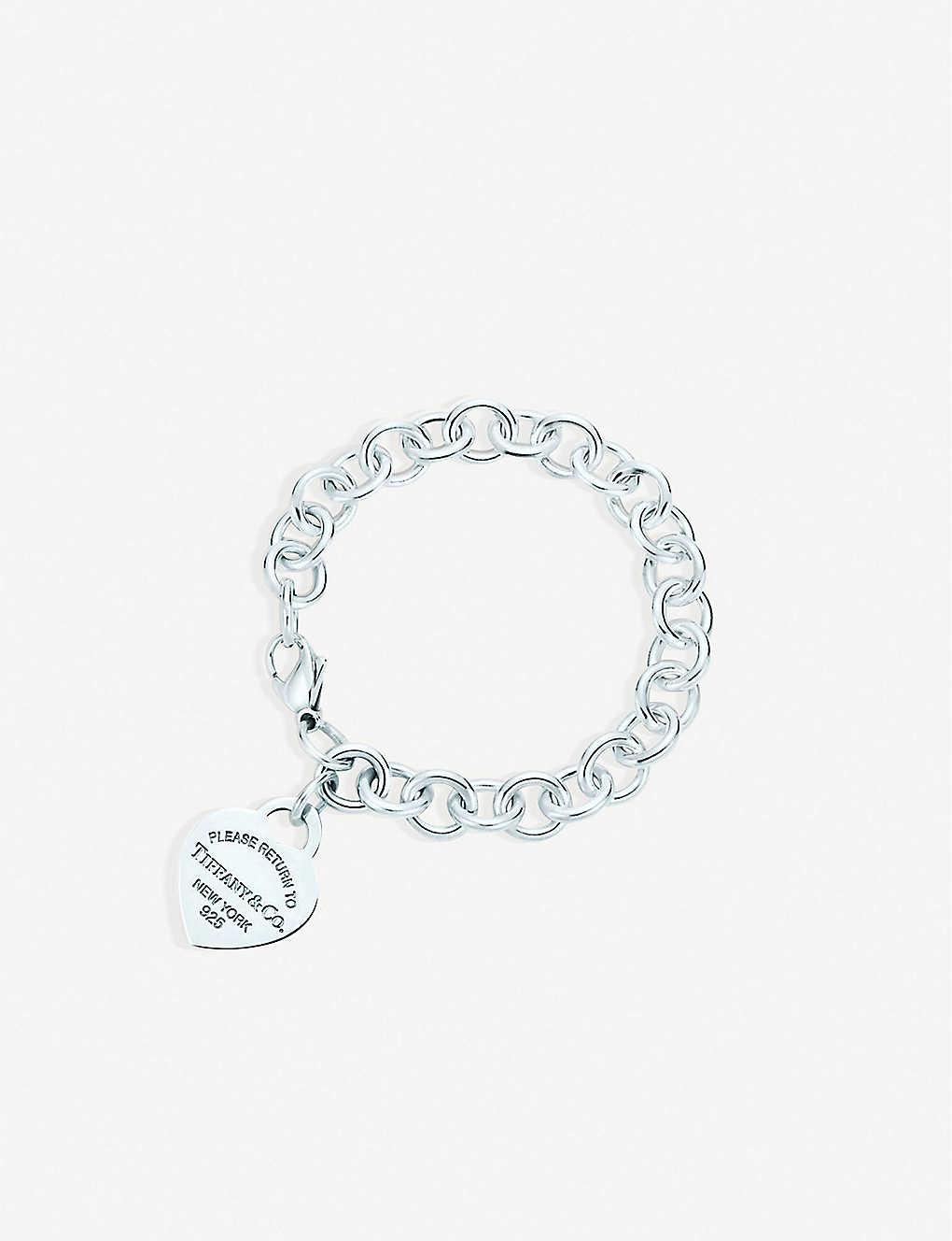 99d1dc535 TIFFANY & CO - Return to Tiffany Heart Tag Charm Bracelet ...