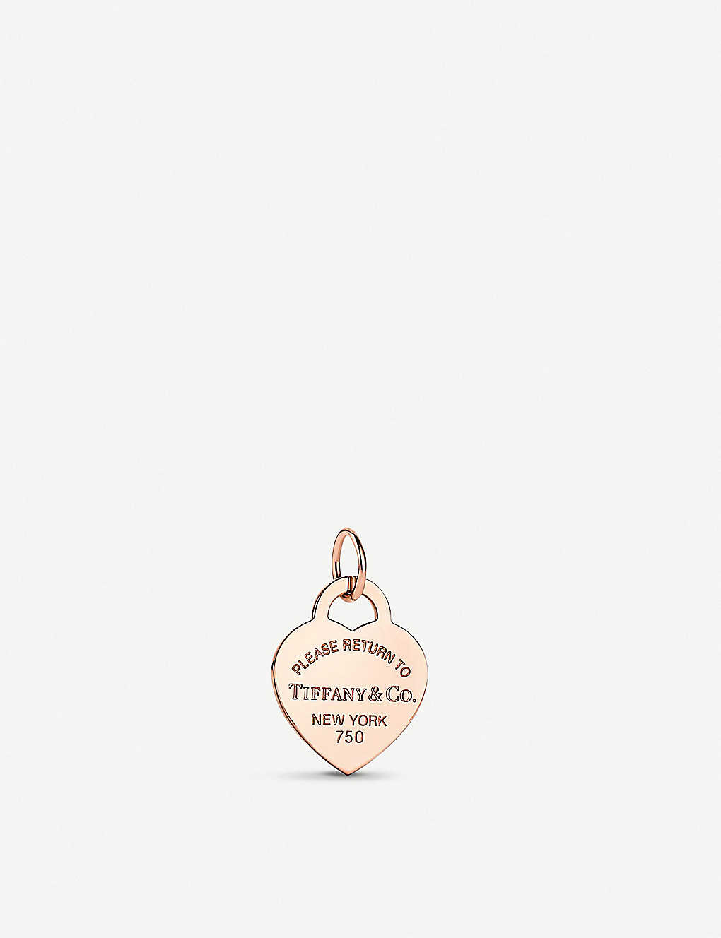 cf87c7a2a TIFFANY & CO - Return to Tiffany Heart Tag 18ct gold-plated sterling ...