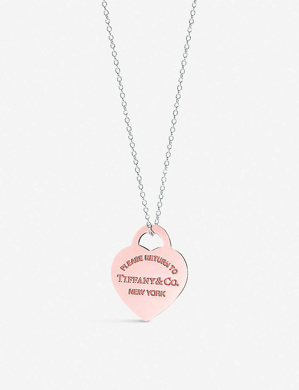 33a538807f5f8 TIFFANY & CO - Return to Tiffany Heart Tag 18ct gold-plated sterling ...
