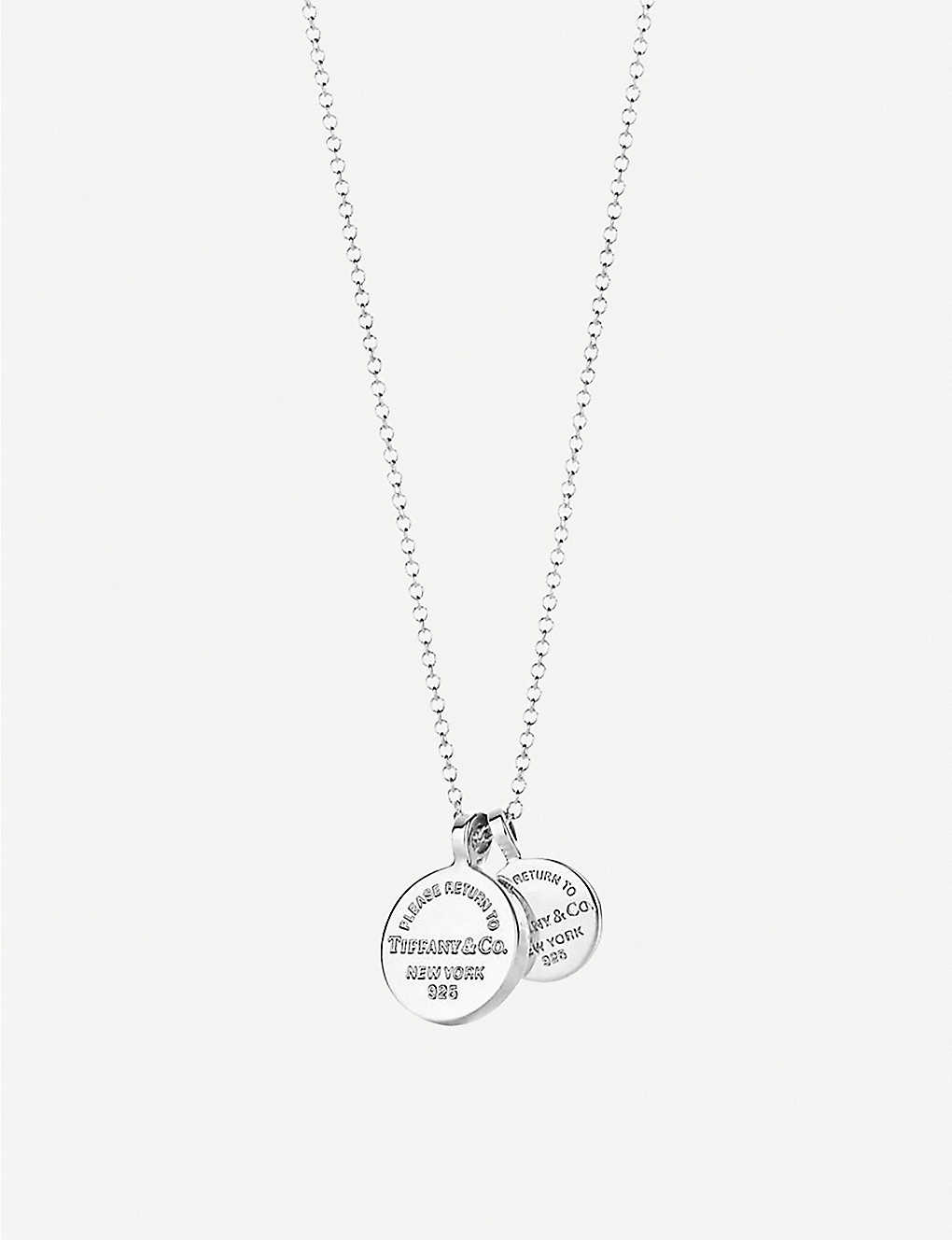 f62ed33cc TIFFANY & CO - Return to Tiffany Circle Duo sterling silver pendant ...