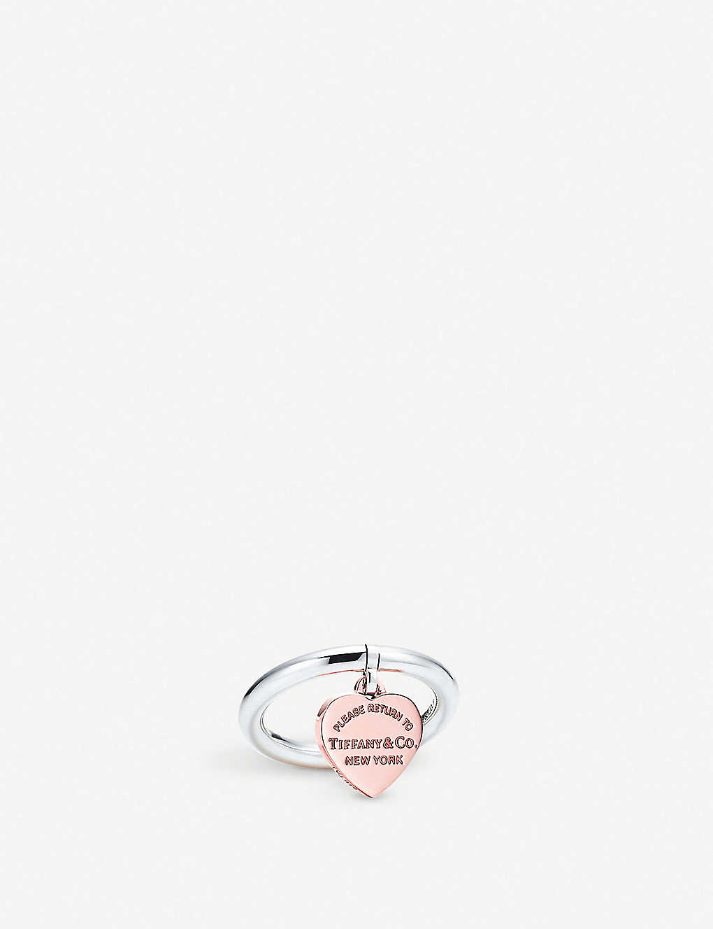 1f27c3f3a TIFFANY & CO - Return to Tiffany™ Sterling Silver and RUBEDO® metal ...
