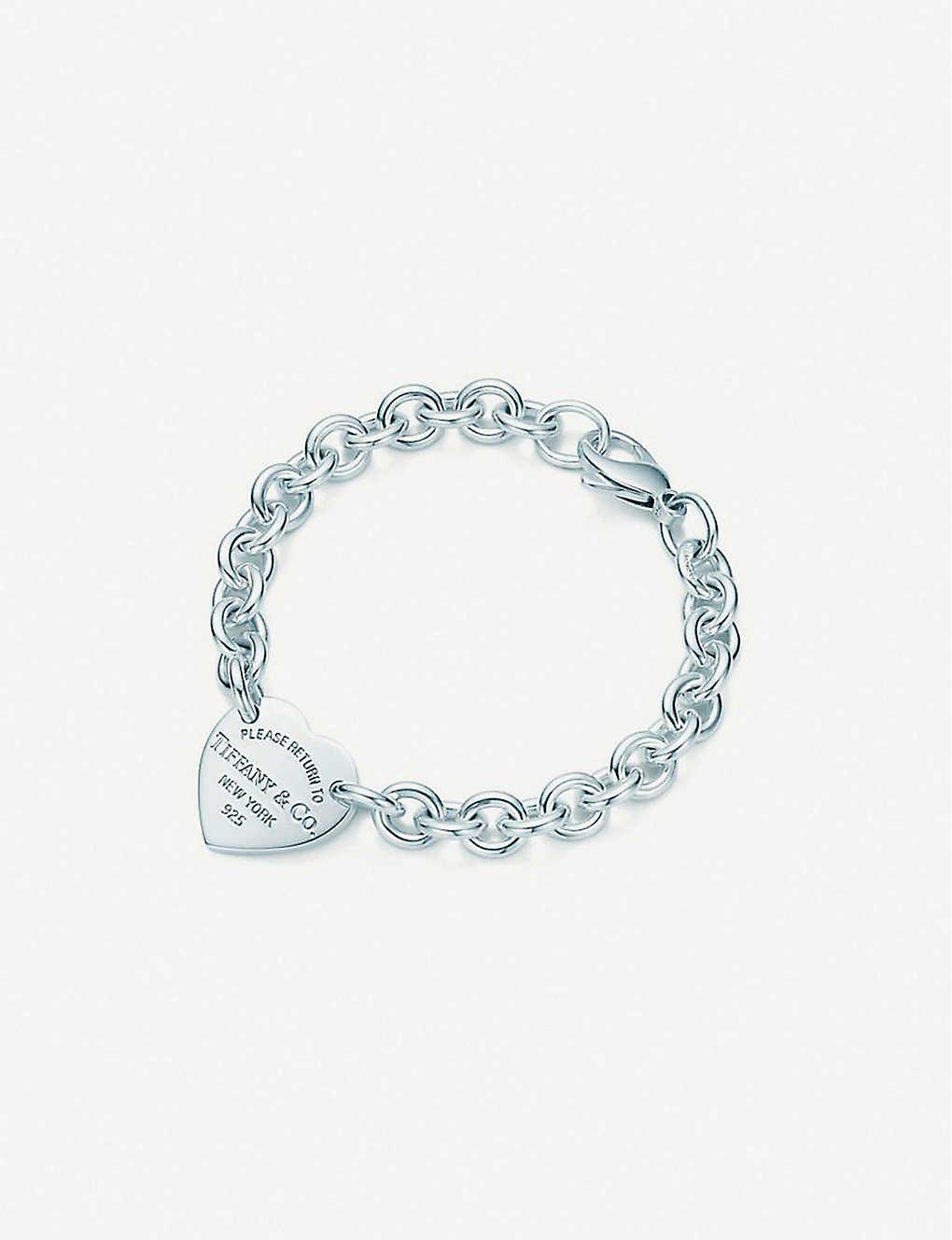 72dd1c476e19d Return to Tiffany medium sterling-silver bracelet