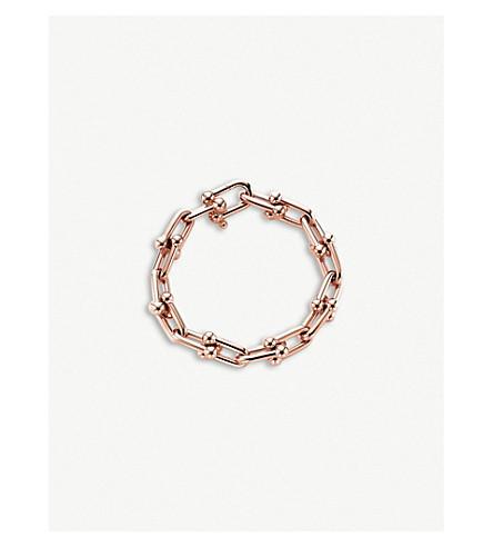 404cc96e7 TIFFANY & CO City HardWear 18ct rose-gold chain bracelet (Rose+gold