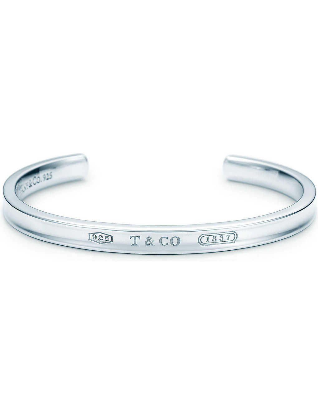 aadeae7c4 TIFFANY & CO - Tiffany 1837 cuff in sterling silver | Selfridges.com