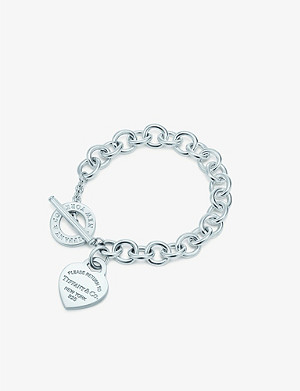 TIFFANY & CO Return to Tiffany sterling-silver bracelet