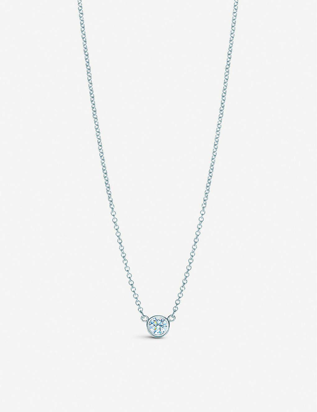 f3e410fd0 TIFFANY & CO - Elsa Peretti® Diamonds by the Yard® pendant in ...