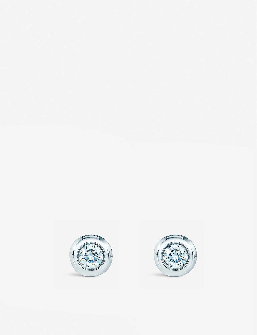 fbbcc881e TIFFANY & CO Elsa Peretti® Diamonds by the Yard® earrings in sterling silver