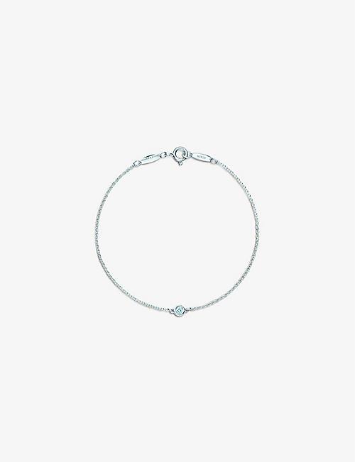 a0b71f70d4b9 TIFFANY   CO Elsa Peretti® Diamonds by the Yard® bracelet in sterling silver