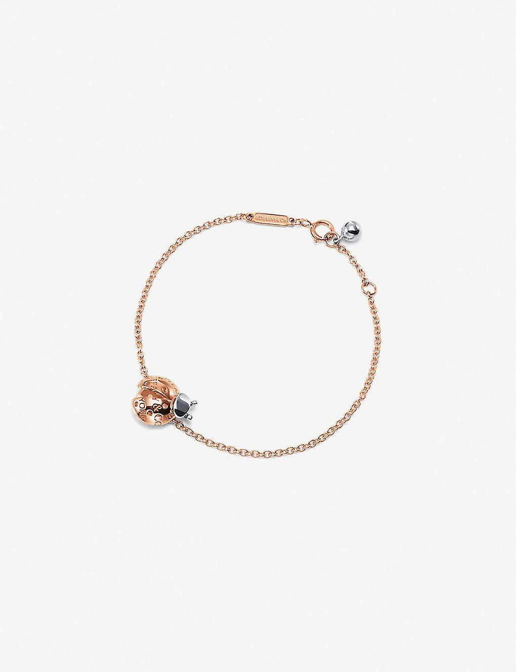 b74c6ae0e TIFFANY & CO - Love Bugs sterling silver and 18ct rose-gold bracelet ...