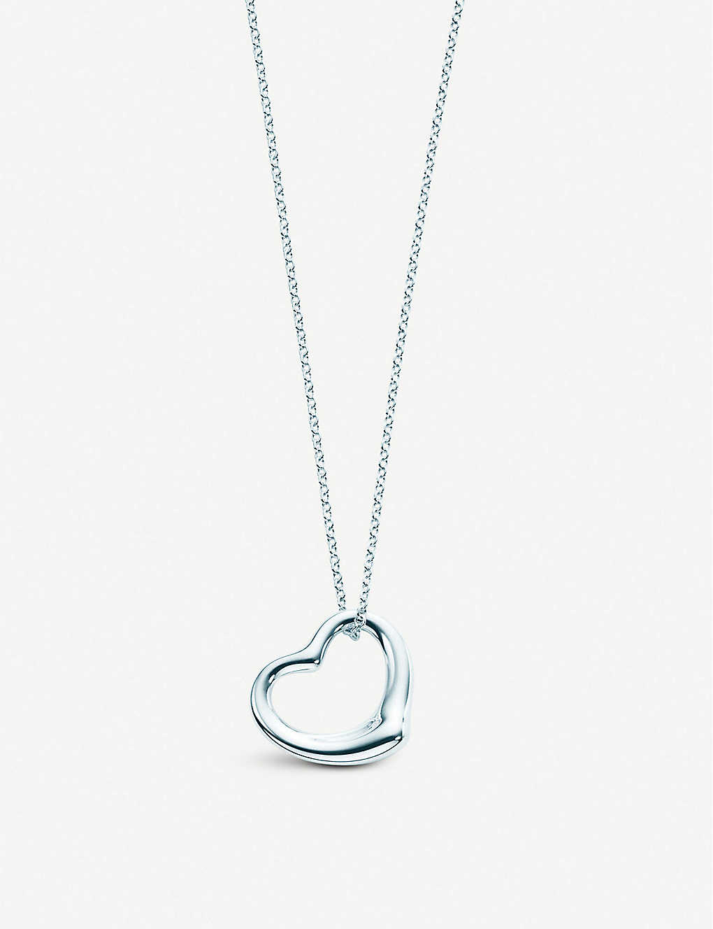 d11a65527 TIFFANY & CO - Elsa Peretti® Open Heart pendant in sterling silver ...