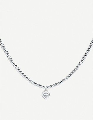 TIFFANY & CO: Return to Tiffany sterling silver bead necklace