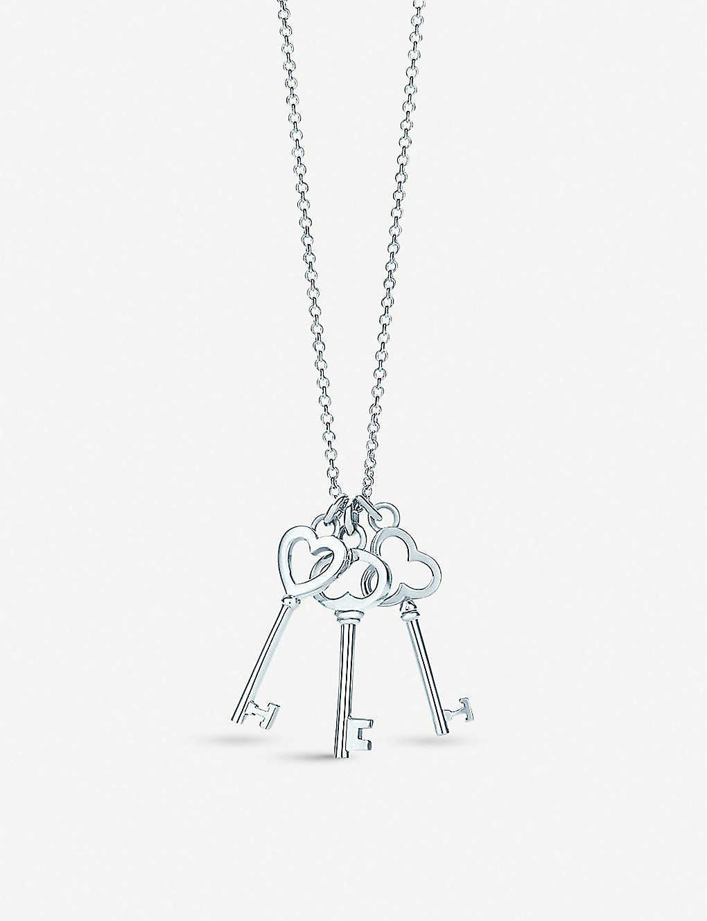 1df448207 TIFFANY & CO - Tiffany Keys mini three-key pendant in sterling ...