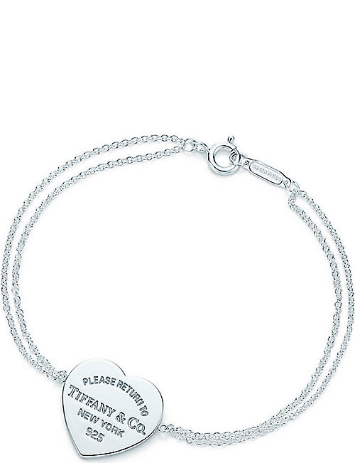 26a3e6ee06af TIFFANY   CO Return to Tiffany heart tag bracelet in sterling silver