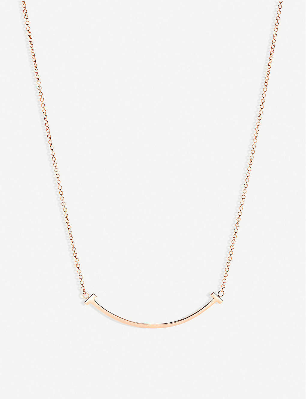 3e573c27b0e TIFFANY   CO - Tiffany T smile pendant in 18k rose-gold
