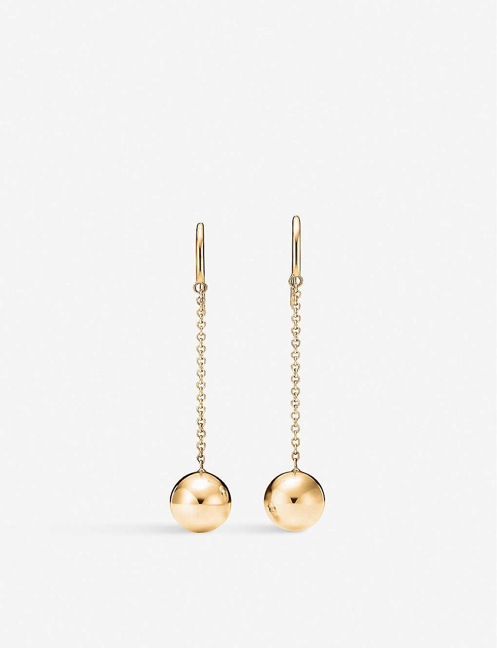 2c326bafb TIFFANY & CO - Tiffany City HardWear Ball Hook 18k gold earrings ...