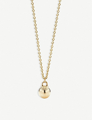 TIFFANY & CO Tiffany City HardWear 18k gold ball pendant