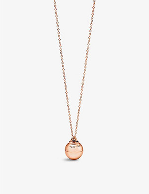 TIFFANY & CO Tiffany City HardWear 18k rose-gold ball pendant