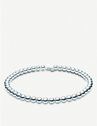 TIFFANY & CO: Tiffany Beads sterling silver necklace