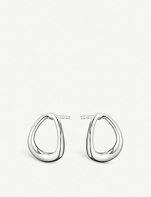 GEORG JENSEN Offspring sterling silver mini earrings