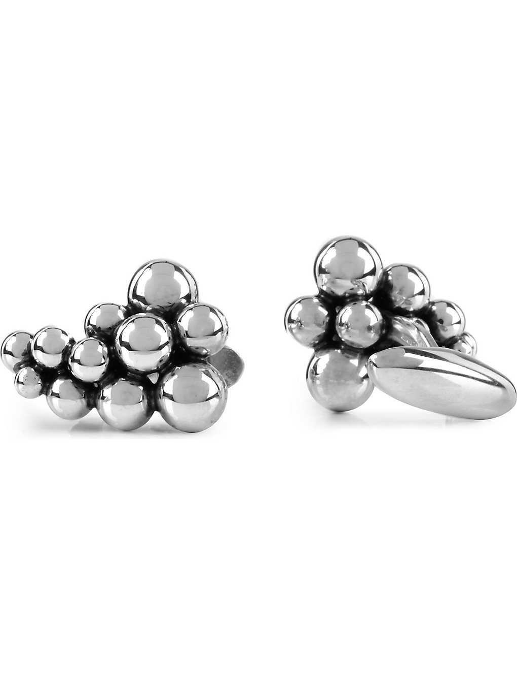 5abce6f4a GEORG JENSEN - Moonlight Grapes sterling silver cufflinks ...