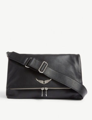 ZADIG&VOLTAIRE Rocky XL leather handbag