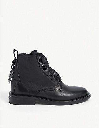ZADIG&VOLTAIRE: Laureen roma leather ankle boots