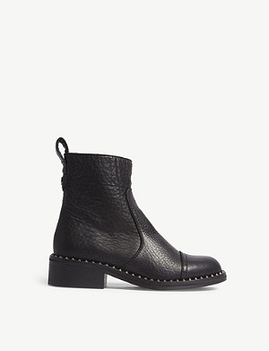 ZADIG&VOLTAIRE Empress Clous studded leather ankle boots