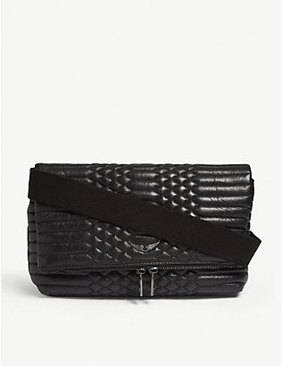 ZADIG&VOLTAIRE: Rocky quilted leather cross-body bag