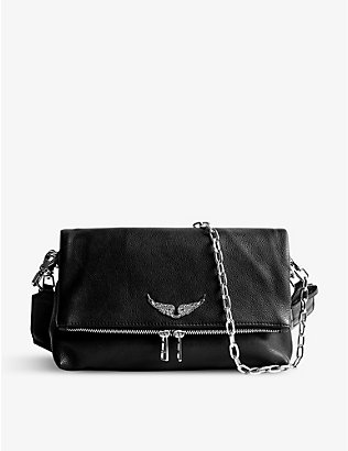 ZADIG&VOLTAIRE: Rocky leather cross-body bag