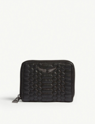ZADIG&VOLTAIRE Matelasse leather wallet