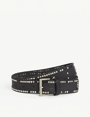 ZADIG&VOLTAIRE Starlight studded leather belt