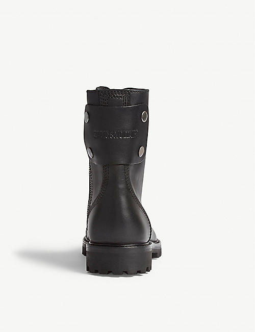 ZADIG&VOLTAIRE Joe leather ankle boots