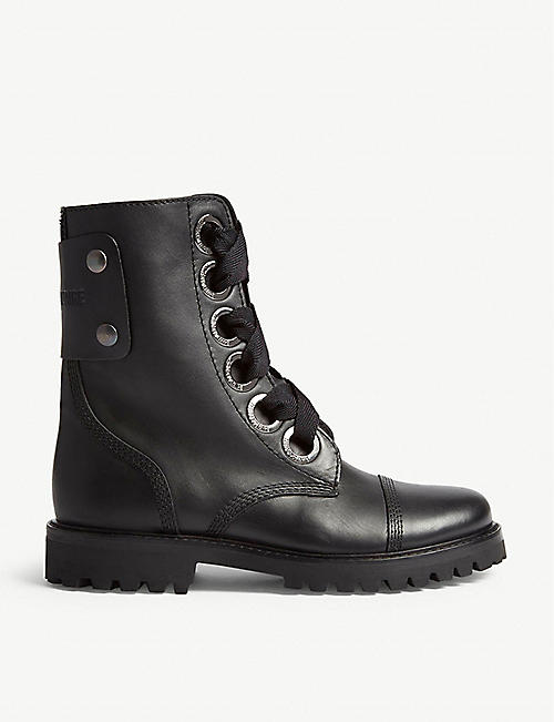 ZADIG&VOLTAIRE: Joe leather ankle boots