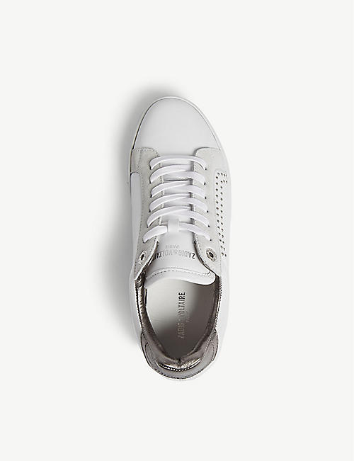 ZADIG&VOLTAIRE ZV1747 leather trainers