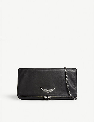 ZADIG&VOLTAIRE: Rock clutch bag