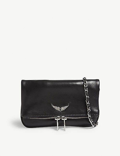 ZADIG&VOLTAIRE: Rock Nano leather clutch