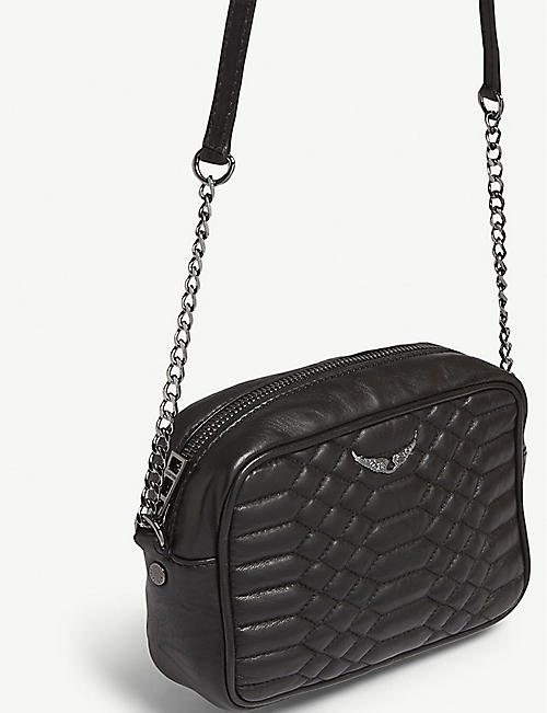 ZADIG&VOLTAIRE Boxy quilted leather cross-body bag