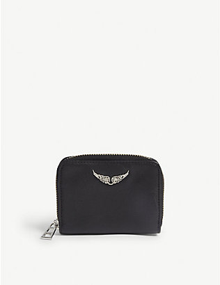ZADIG&VOLTAIRE: Leather mini wallet