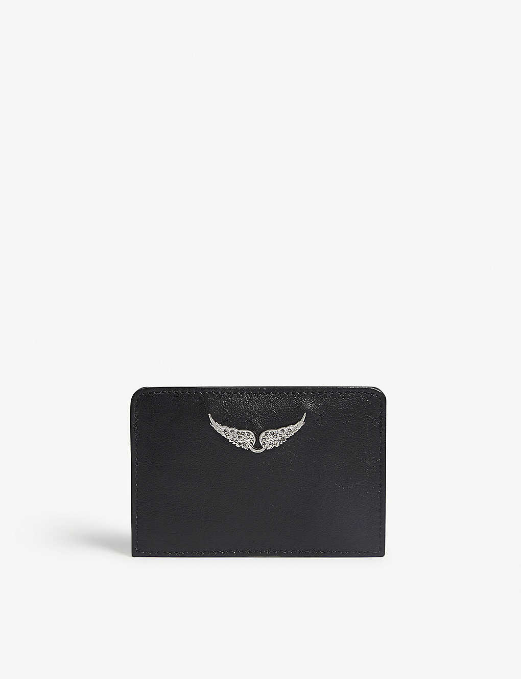 ZADIG&VOLTAIRE: Leather card holder