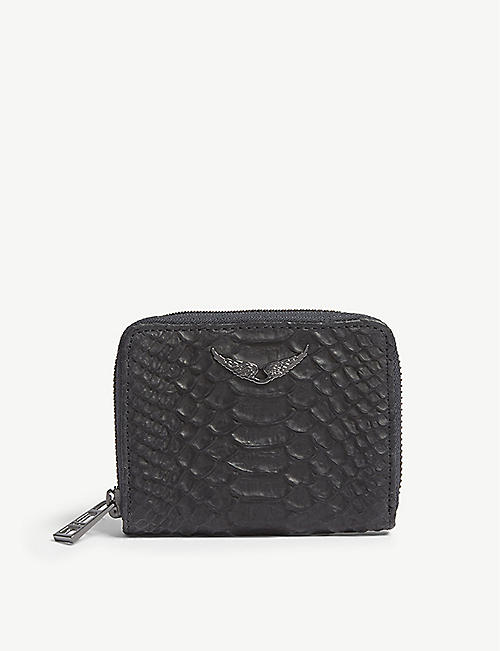ZADIG&VOLTAIRE: ZV leather wallet
