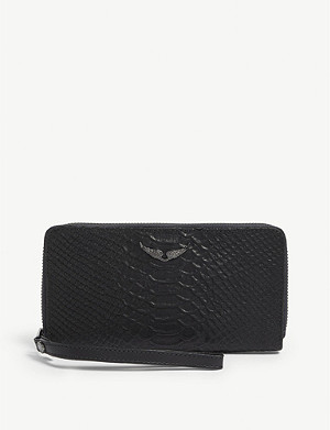 ZADIG&VOLTAIRE Campagnon Savage leather wallet
