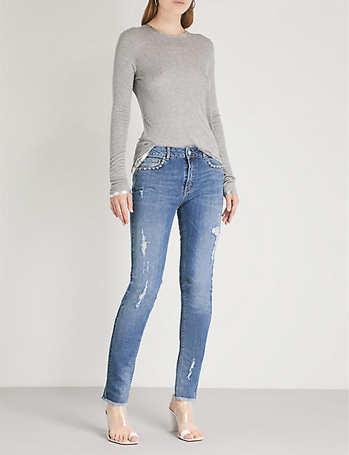 ZADIG&VOLTAIRE Eva stretch-denim jeans