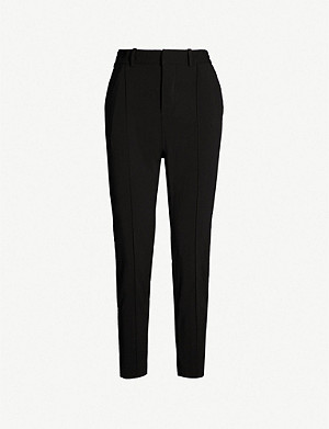 ZADIG&VOLTAIRE Panda tapered-leg crepe trousers